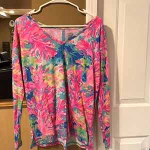 Lilly long sleeve luxletic top